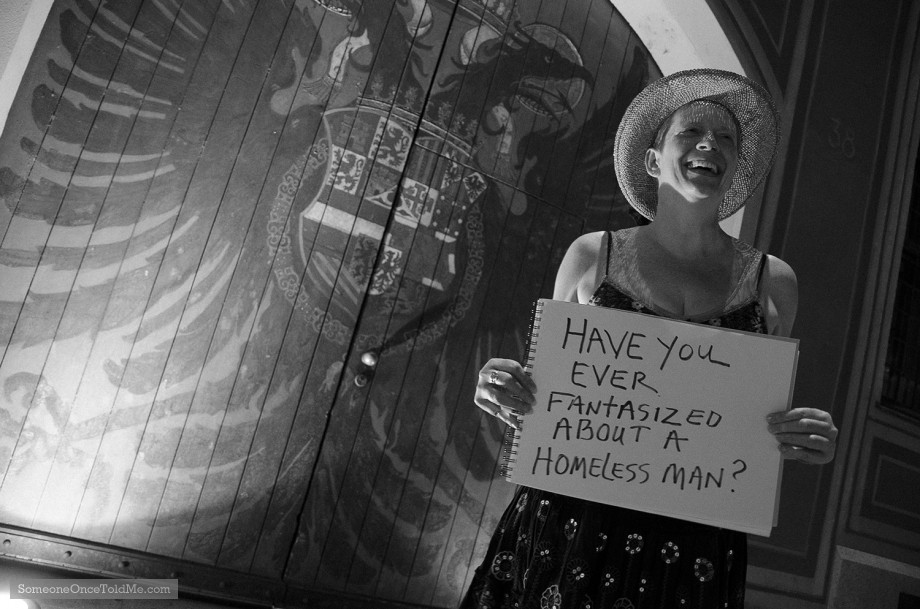 Have You Ever Fantasized About A Homeless Man?