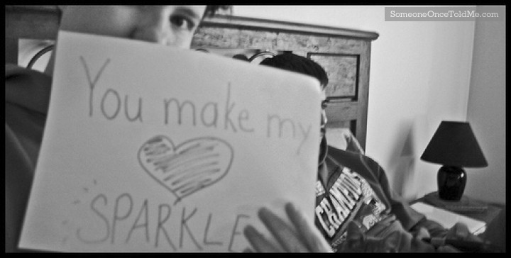 You Make My Heart Sparkle
