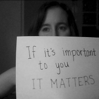 If It's Important To You It Matters