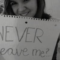 Never Leave Me?...