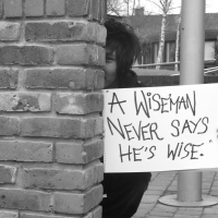 A Wiseman Never Says He's Wise