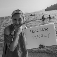 Teacher. Plastic?