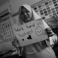 Work Hard In School